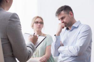 lawyer mediating divorce