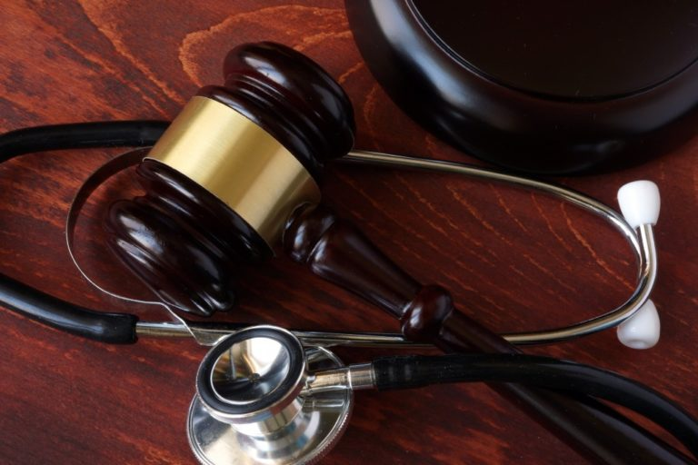 medical justice concept