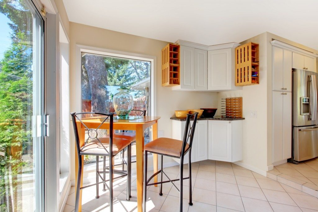 dining area of a rental vacation property