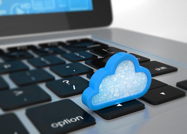 cloud system on keyboard