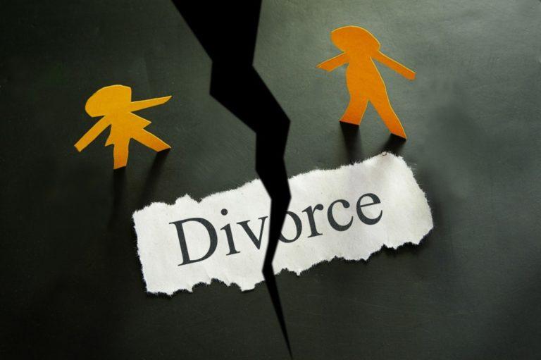 Divorce concpet