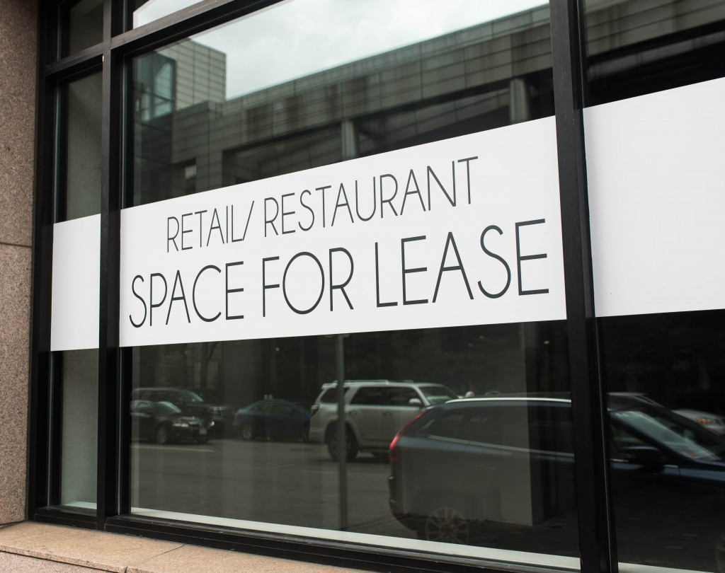 space for rent sign