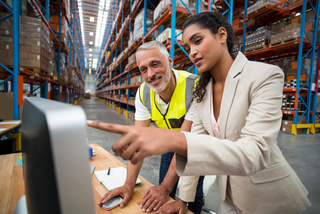 warehouse manager using an automation tool